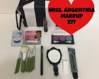 Miss. Argentina makeup kit