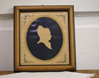 Martha Washington Silhouette