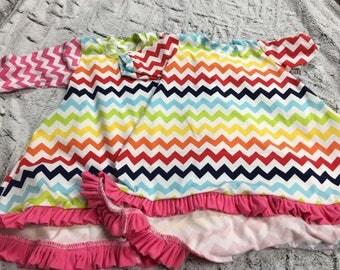 Beautiful Summer Chevon Dress