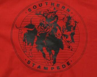 vintage southern stampede Roebucks western shirt