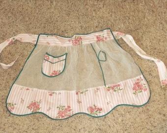 Vintage Pocket Apron