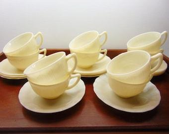 Vintage Corex Teacups and Saucers