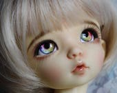 BJD eyes Doll eyes Hand Made available in 12/14/16/18/20/22/24mm Ribbon Candy  made to order