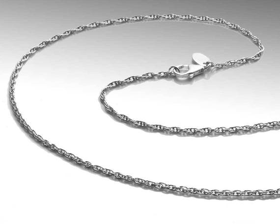 1.9mm Rope Chain - Argentium Silver
