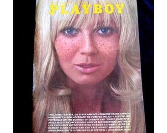 Playboy August 1969 Sixties Issue Excellent  Leroi Newman Etc