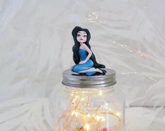 Fairy light , Jar Lamp , LED lights , decorative lights , nursery night light , kids night light , nursery lamp , kids lamp