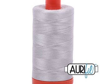 Aurifil Cotton Thread - 50 wt - Aluminum