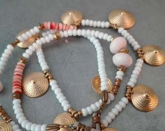 Ayna white necklace