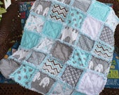 Custom Baby Rag Quilt Made to Order Quilt Design Your Own Baby Quilt Crib Bedding You Choose Colors Theme Size Baby Shower Gift Quilt