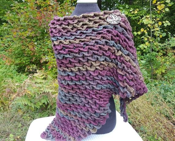 Wedding shawl, bridal shawl, bridesmaid gift, mothers day wrap; OOAK crochet shawl wrap