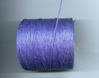 Royal Blue Waxed Cord Thread 5 yards