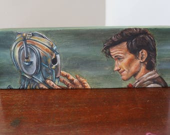 Doctor and Handles Love Story. original painting