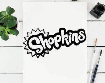 Shopkins Logo - SVG for Cricut
