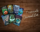 7 JOURNAL TUTORIAL PACK ( please see the tutorial section for each tutorial separately)