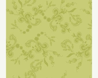 SALE 10% Off - Lilly Belle Fabric by Bari J - Art Gallery Fabrics - Belle Vines in Oasis (LB-2109) - By the Yard