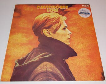 1977 - David Bowie - Low - LP Vinyl Record Album - 70's / Classic Rock / Rock N Roll