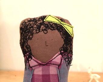 Reserved for carolyn- Custom Family Portrait - Family dolls  - Soft sculpture doll - Timo handmade dolls