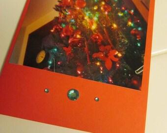 Instagram Photo Card -- Christmas Tree