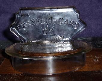 Franklin-Caro Co. Glass Lid