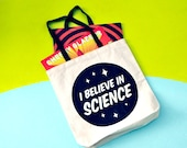 Tote Bag Science Activism Farmers Market Record Bag