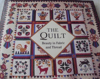 The Quilt / Beauty in Fabric and Thread / Marie Salazar / Barnes & Noble / Coffee Table Book / History of Quilts / Quilting Book