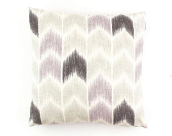 ON SALE Fabricut Nojo Pillows in Lavender (Both Sides 18 X 18)
