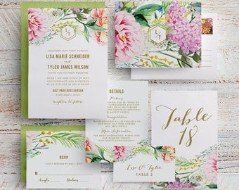 boho rustic wedding invitations, bohemian floral wedding invitations, bohemian rustic wedding invitation, watercolor floral wedding invites