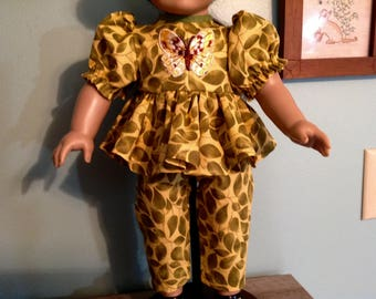 """18""""  Doll Clothes, 18 inch doll clothes, 18 inch doll dress, 18"""" doll pants and top"""