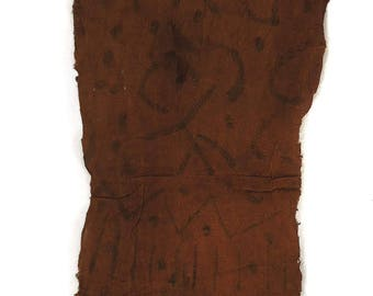 Pygmy Mbuti Barkcloth Ituri Rainforest Congo African Art 119491
