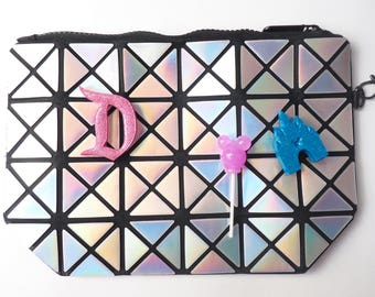 Epcot Spaceship Earth Wristlet Handbag and 3 Disney Pins included