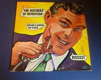 Frank Zappa The Mother Of Invention Weasels Ripped My Flesh Vinyl Record LP MS 2028 Reprise Records 1970