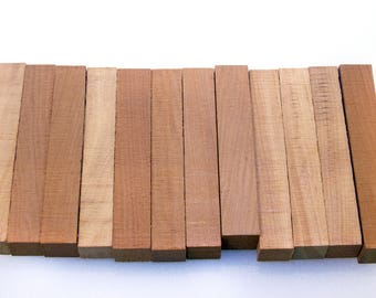 12 PEN BLANKS - Ancient Kauri from New Zealand (Lot 1)