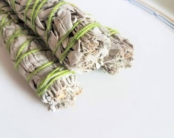 Smudge Stick | White Sage Bundle 3"