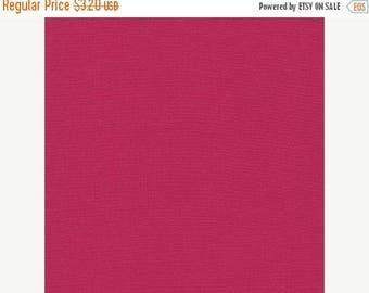 SALE Sangria, Kona Cotton, Robert Kaufman Fabrics, 1/2 Yard