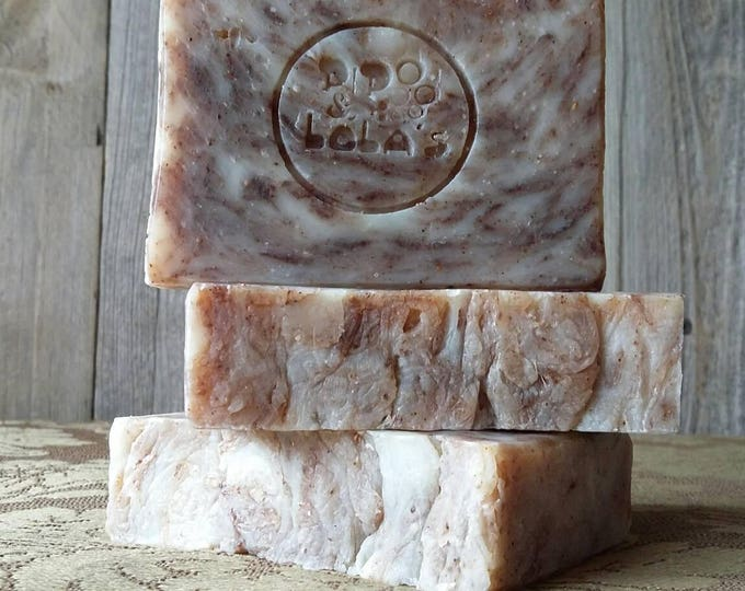 "Perfect Pomander ""Back to Basics"" Soap --  Orange Clove All Natural Soap, Handmade Soap, Barely Scented Soap, Sustainable Palm, Vegan Soap"
