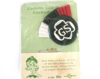 Vintage Cadette Girl Scout Patch