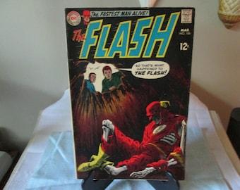 Vintage Superman DC Comic #186 1969, The Flash, Comic Book Collector
