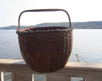early oak splint basket shaker style baskets