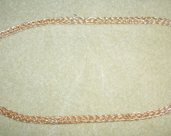 """Viking Knit Necklace """"Made to Order"""""""