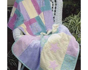 Baby Quilt Pattern, Quilt Pattern, Lap Quilt Pattern, Crib Quilt Pattern, Child Quilt, Baby Blanket Pattern, Baby Decor, PATTERN ONLY