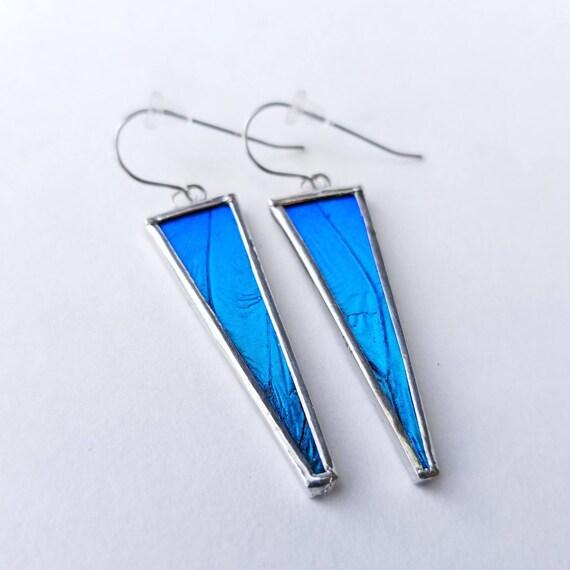 Butterfly Jewelry / Butterfly Earrings / Real Butterfly Wing Jewelry