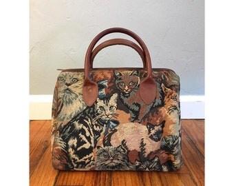 Tacky Cat Tapestry Bag