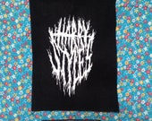 HARRY STYLES black metal patch you asked for it and so here it is