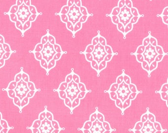 11457-17 Tea Rose, Trade Winds by Lily Ashbury for Moda