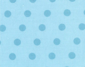 18527-11 Dots in Blue Bell, A Walk in the Woods by Aneela Hoey for Moda