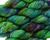 hand dyed yarn ACID JAZZ pick your base - sw merino bfl silk nylon stellina fingering dk