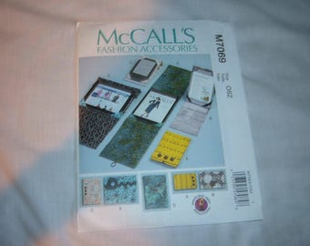 McCall's Pattern #7069 for Electronics Devices Covers & Stands-Uncut