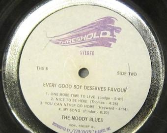 Moody Blues - UPCYCLE Vinyl Record Bowl