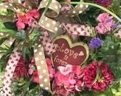 Valentine Heart Wreath fo...