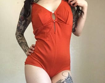 VINTAGE LATE 60's SWIMSUIT